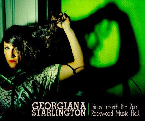 Georgiana Starlington March 8