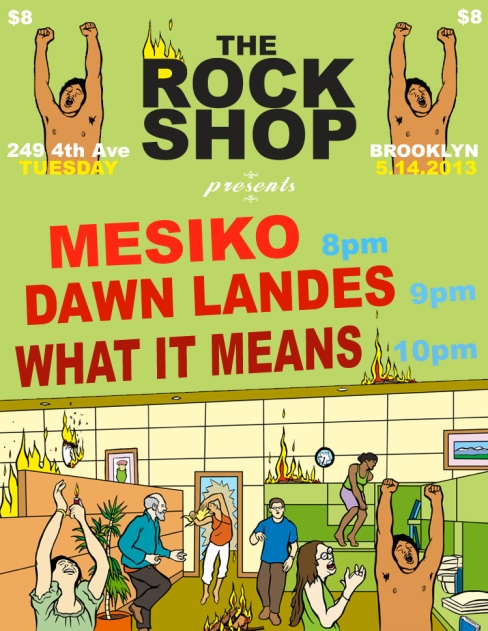 The Rock Shop May 14