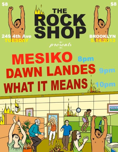 The Rock Shop May 14