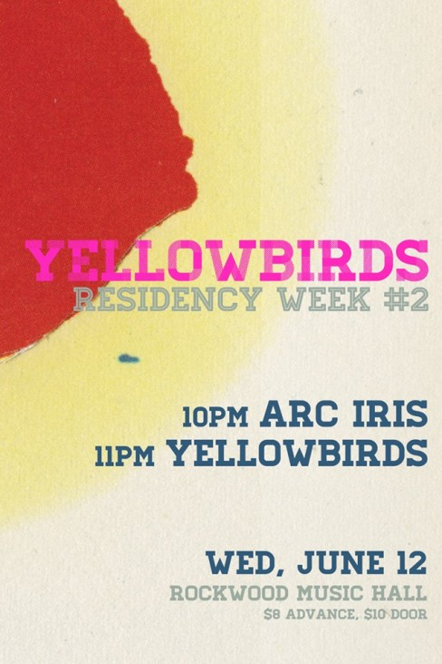 Yellowbirds June 12 2013