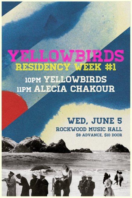 Yellowbirds June 5