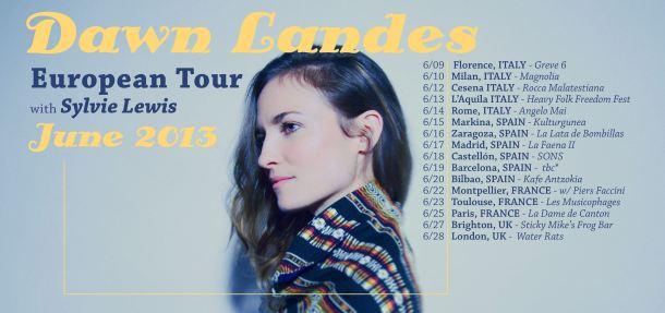 Dawn Landes Tour