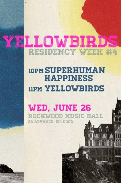 Yellowbirds June 26