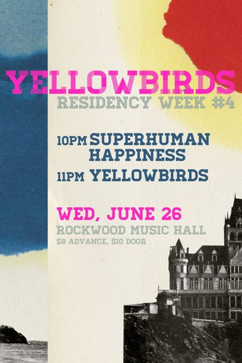 Yellowbirds June 26