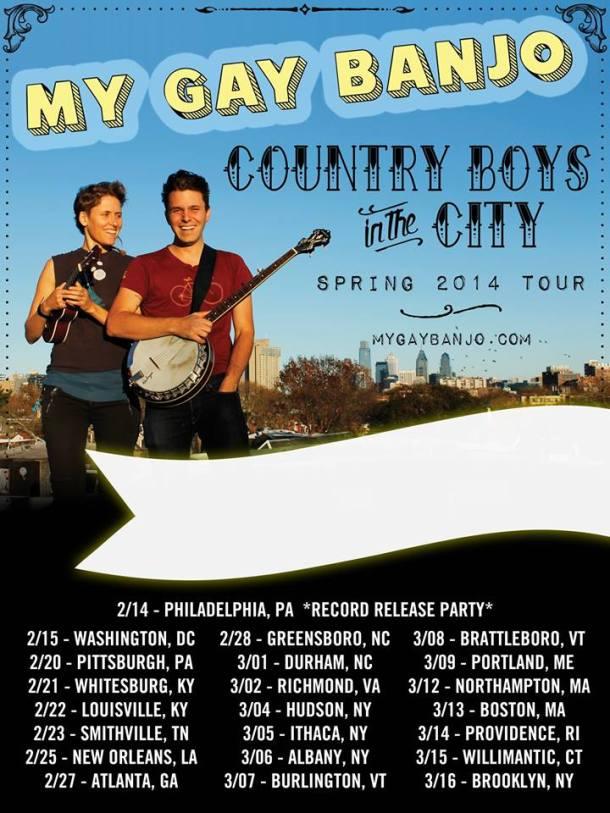My Gay Banjo Tour Feb 15