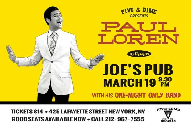 Paul Loren March 19